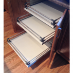 3-drawer pullout for under counters