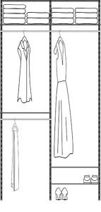 48in Closet Kit