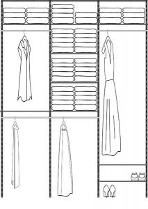 72in Closet Kit