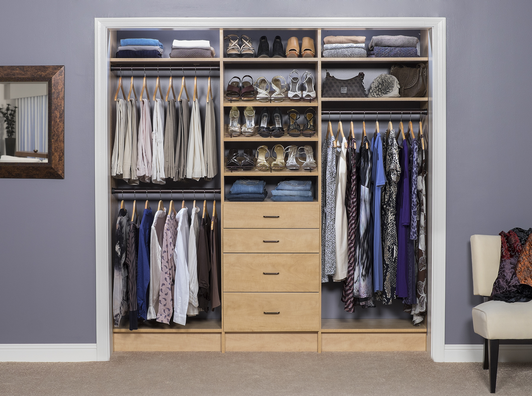 Closet Design Organization Burlington