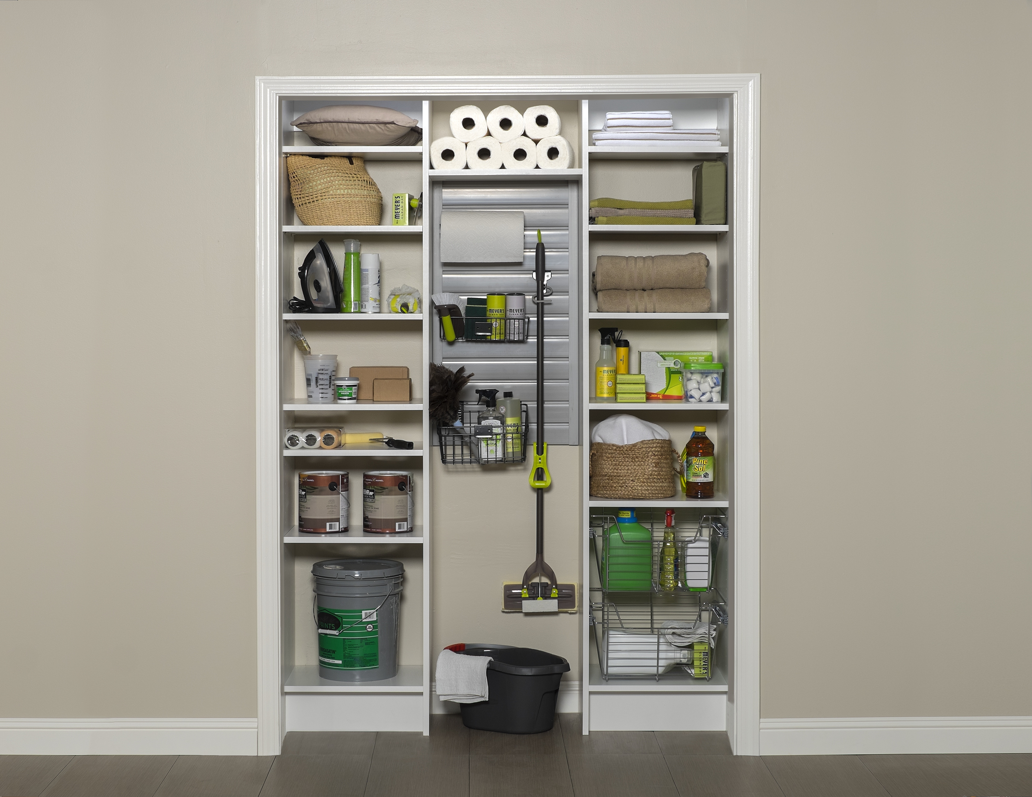 Utility Closets Unlike Mcgee S Space Age Shelving