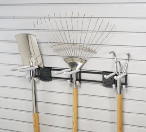 3 Hook Tool Rack on Slatwall