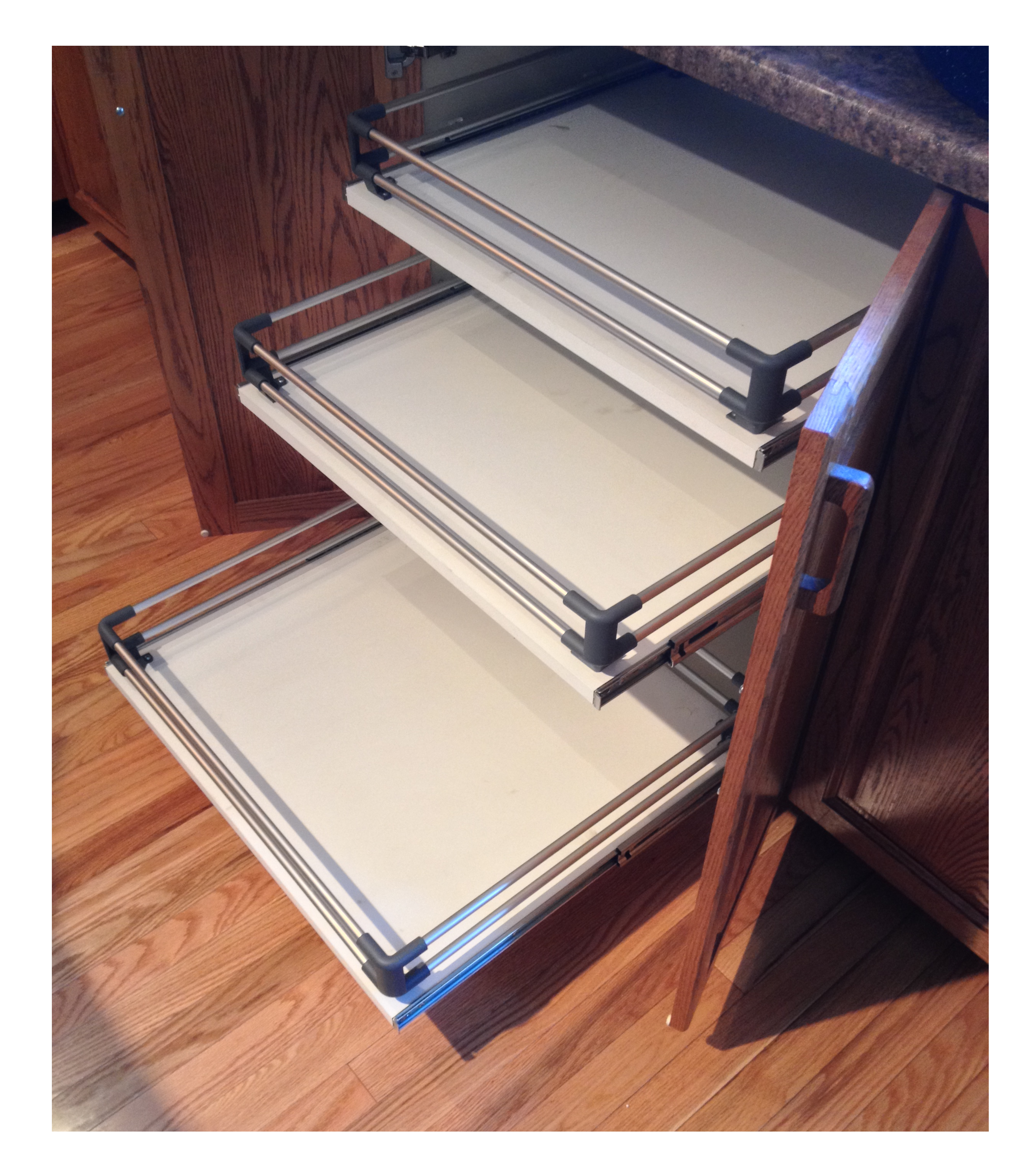 Under Cabinet Drop Down Shelf Hardware: Pull-Outs, Hardware, Hinges