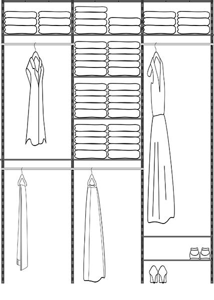 AdjustAshelf Closet Kits