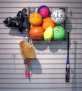 HS Sports Accessory Rack