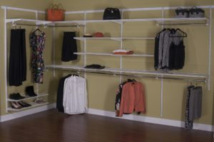 adjustable open wire shelving