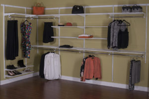 Wrap-Around Closet (White finish). As shown: $742.50