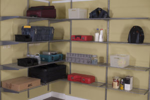 Wrap-Around Garage or Pantry (Silver finish). As shown $599.50