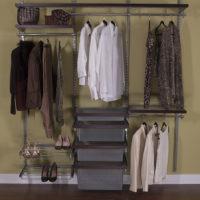 reach in closet wire organizer