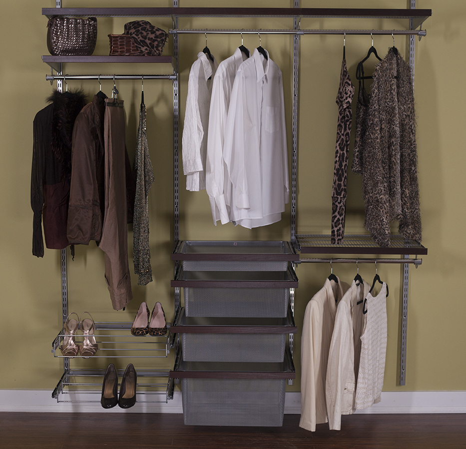 reach in closet wire organizer
