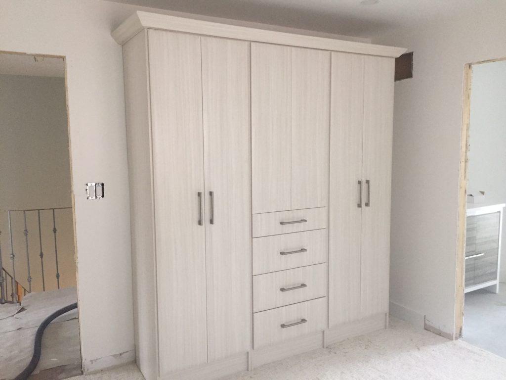 custom melamine storage cabinet