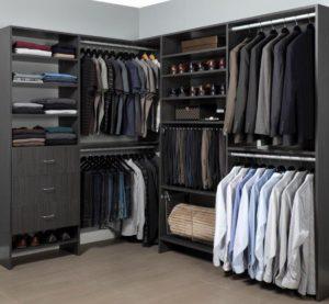 custom melamine closets