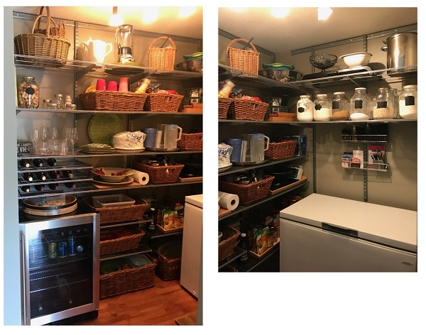 pantry cantina storage and organization