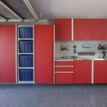 Red-Sliding-Cabinets-OPEN-w-Stainless-Workbench-Grey-Slatwall-Aug-2013-261x192