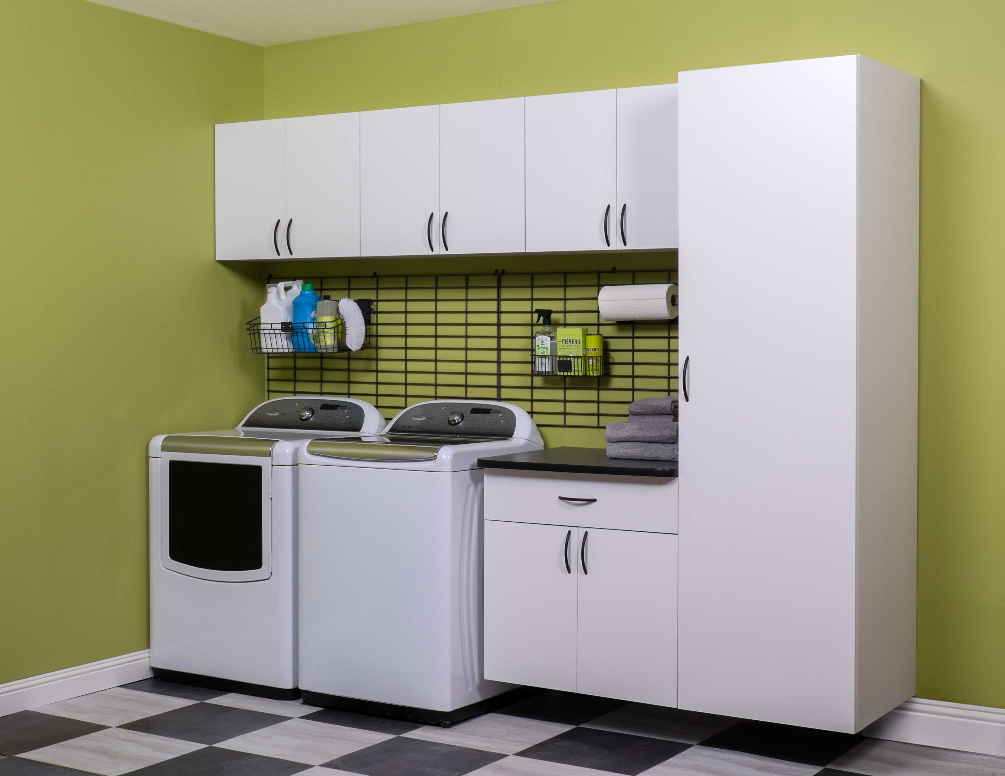 Get Organized for Life! Who says utility rooms can't be organized, functional and attractive? We'll show you how