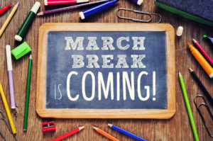 march break is a great time to get organized